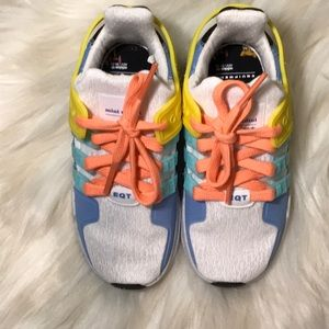 Toddler Adidas x Mini Rodini collab sneakers NWT
